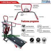 Alat Fitness Treadmill Manual 6 Fungsi Anti Gores TL-004 Total Fitness Murah