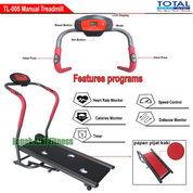 Alat Fitness Treadmill Manual 1 Fungsi Anti Gores TL-005 Total Fitness Murah