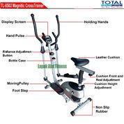 Alat Olahraga Sepeda Fitnes Statis Elliptical Crosstrainer Bike TL-8502 Total Fitness