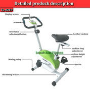Alat Olahraga Sepeda Fitnes Statis Magnetik Bike TL-8219 Total Fitness