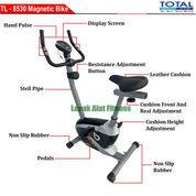 Alat Olahraga Sepeda Fitnes Statis Magnetik Bike TL-8530 Total Fitness