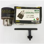 MOLLAR Kepala Bor 13mm 13 Mm 0.5 Inch Chuck Key Screw Drill
