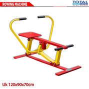 ROWING MACHINE - Fitness Out Door, Fitnes Outdoor, Fitnes Taman