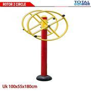 ROTOR 2 CIRCLE - Fitness Out Door, Fitnes Outdoor, Fitnes Taman