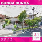Rumah 2 Lantai Luas 277 Di Bunga Nusa Indah Suhat Kota Malang _ 571.19
