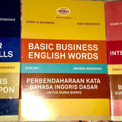 "Seri Buku Bahasa Inggris ""Down To Business"" (22871147) di Kota Surabaya"