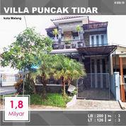 Rumah 2 Lantai Luas 126 Di Villa Puncak Tidar Kota Malang _ 659.19 (22872391) di Kota Malang