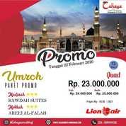 Promo Paket Umroh Februari 2020 (22876731) di Kota Surabaya