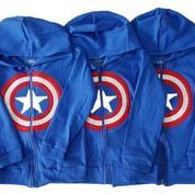 Jaket Anak Captain America (1-3 Tahun) (22880211) di Kab. Gresik