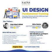 UI Design Fundamental Training With Tiket.Com