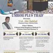 Biaya Umroh Plus Thaif Bekasi Barat (22891307) di Kota Bekasi