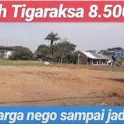 Tanah Cikupa 1 Hektar Depan Kaw Pergudangan Bizzpoint Tangerang (22897143) di Kab. Tangerang