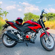 Cb150r Red Doff Pengambilan September 2019. Km 6000up, Bidy Ceramic Coating Dan Acc (22901431) di Kota Pekanbaru