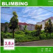 Tanah Kavling Luas 202 Di Perumahan Seberang Araya Kota Malang _ 216.18