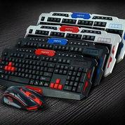 Keyboard Dan Mouse Wireless Gaming (22915243) di Kota Jakarta Barat