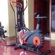 Orbitrek 5 Fungsi Peralatan Fitness Sepeda Statis Sidoarjo (22916531) di Kab. Sidoarjo