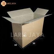 Kardus / Box Packing 35 X 18 X 28 Cm Isi 25pcs Polos (22926247) di Kota Semarang