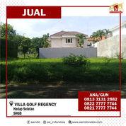 Tanah Villa Golf Regency Surabaya