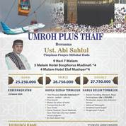 Promo Umroh Plus Thaif Matraman Jakarta (22941679) di Kota Jakarta Timur