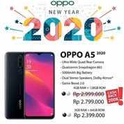 OPPO A5 2020 > DP 650 RB Bunga 0% GRATIS 1X Cicilab (22943383) di Kota Bandung