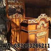 Furniture Mimbar Masjid Jati Jepara (22948019) di Kab. Jepara