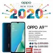 OPPO A9 2020 > DP MURAH CICILAN BUNGA 0% GRATIS 1X CICILAN (22952639) di Kota Bandung
