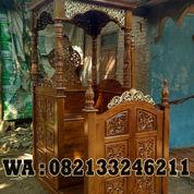 Model Mimbar Masjid (22962295) di Kab. Jepara