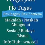 Jasa Bantuan Pengerjaan Tugas/ PR Makalah Bisnis / Sosial Utk Siswa / Mahasiswa