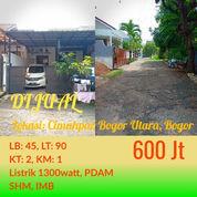 Rumah Cantik Bogor Raya Residence Siap Huni Di Kota Bogor (22973631) di Kab. Bogor