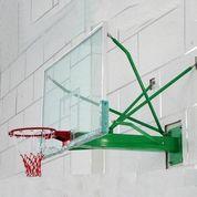 Papan Pantul Basket Dinding 1050x1800 Mm - Tempered Glas