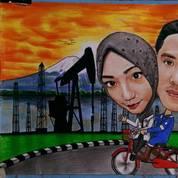 Lukisan Pensil Dan Karikatur Hitam Putih (22994075) di Kab. Bekasi