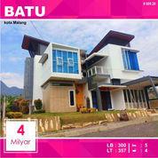 Rumah Villa Luas 355 Dekat BNS Kota Batu Malang _ 009.20 (23005467) di Kota Malang