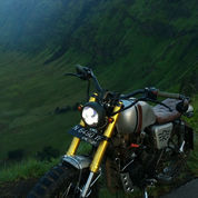 Yamaha Scorpio Custom Scambler