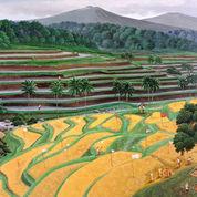 Lukisan Massive Harvest (23013571) di Kota Denpasar