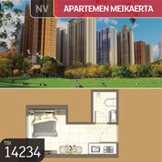 Apartemen Meikarta, Tower S1, Bekasi, 21,91 M, Lt 38, PPJB (23024935) di Kota Bekasi