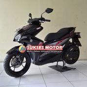 YAMAHA AEROX 155 VVA HITAM 2018 MOTOR BEKAS BERKUALITAS DAN BERGARANSI (23029691) di Kota Jakarta Timur
