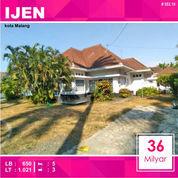 Rumah Klasik Luas 1.021 Di Raya IJEN Kota Malang _ 553.19 (23030907) di Kota Malang