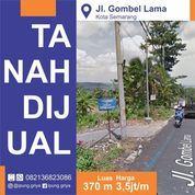 Tanah Murah Di Jalan Gombel Lama Semarang (23034907) di Kota Semarang