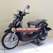 YAMAHA FINO GRANDE 125 COKLAT 2018 MOTOR BEKAS BERGARANSI DAN BERKUALITAS TINGGI (23035587) di Kota Jakarta Timur