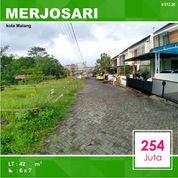 Tanah Kavling Murah Di Merjosari Sigura Gura Kota Malang _ 012.20