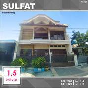 Rumah 2 Lantai Luas 120 Di Titan Sulfat Kota Malang _ 013.20 (23067559) di Kota Malang