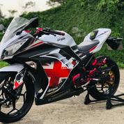 Ninja Fi 250 Tahun 2013 Variasi Bonus Helm Airoh Gp 500 Carbon