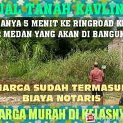 Tanah 105 Kavling Kapling Kosong Murah Siap Bangun Di Namorambe Dekat Medan Johor (23072959) di Kota Medan