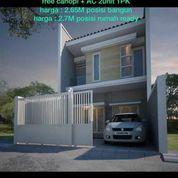 Cas#021 Rumah Baru Minimalis + AC Di Manyar Kertoadi Surabaya
