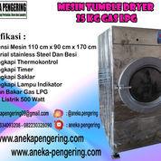 Mesin Pengering Pakaian / Tumble Dryer Kapasitas 25 Kg Tipe Gas (23088459) di Kab. Sidoarjo