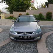 Honda Accord Silver Mulus