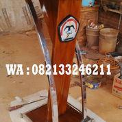 Podium Minimalis Stainess Universitas Tecnokrat Lampung (23090387) di Kab. Jepara