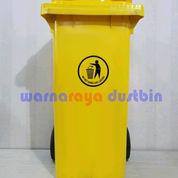 TEMPAT SAMPAH PLASTIK RODA 120 LITER Termurah (23091015) di Kab. Bekasi