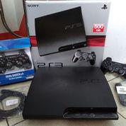 PS3 SLIM 500GB Isi 100 Judul Game+2 Stik Wirless