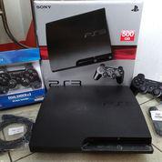 PS3 SLIM Terbaik 500GB Isi 100 Judul Game+2 Stik Wirless